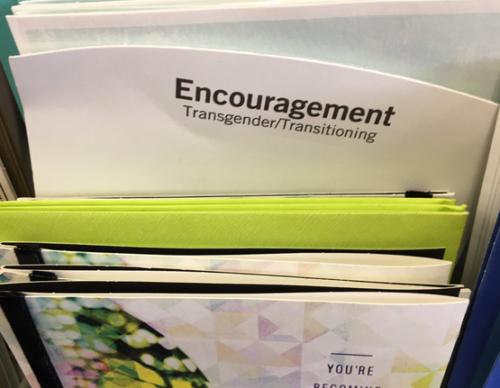 Transgender transitioning card