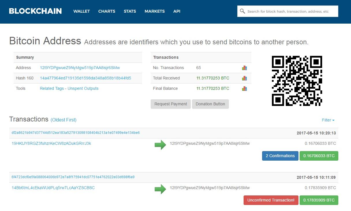 WannaCry ransomware bitcoin wallet