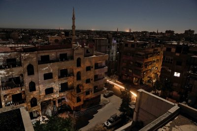 Damascus Syria Assad rebels