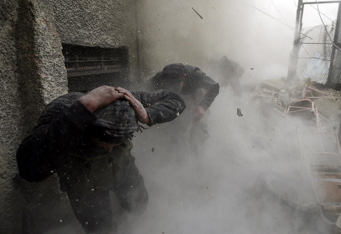 Damascus Syria Assad rebels