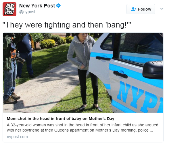 Mother's Day Shooting Queens