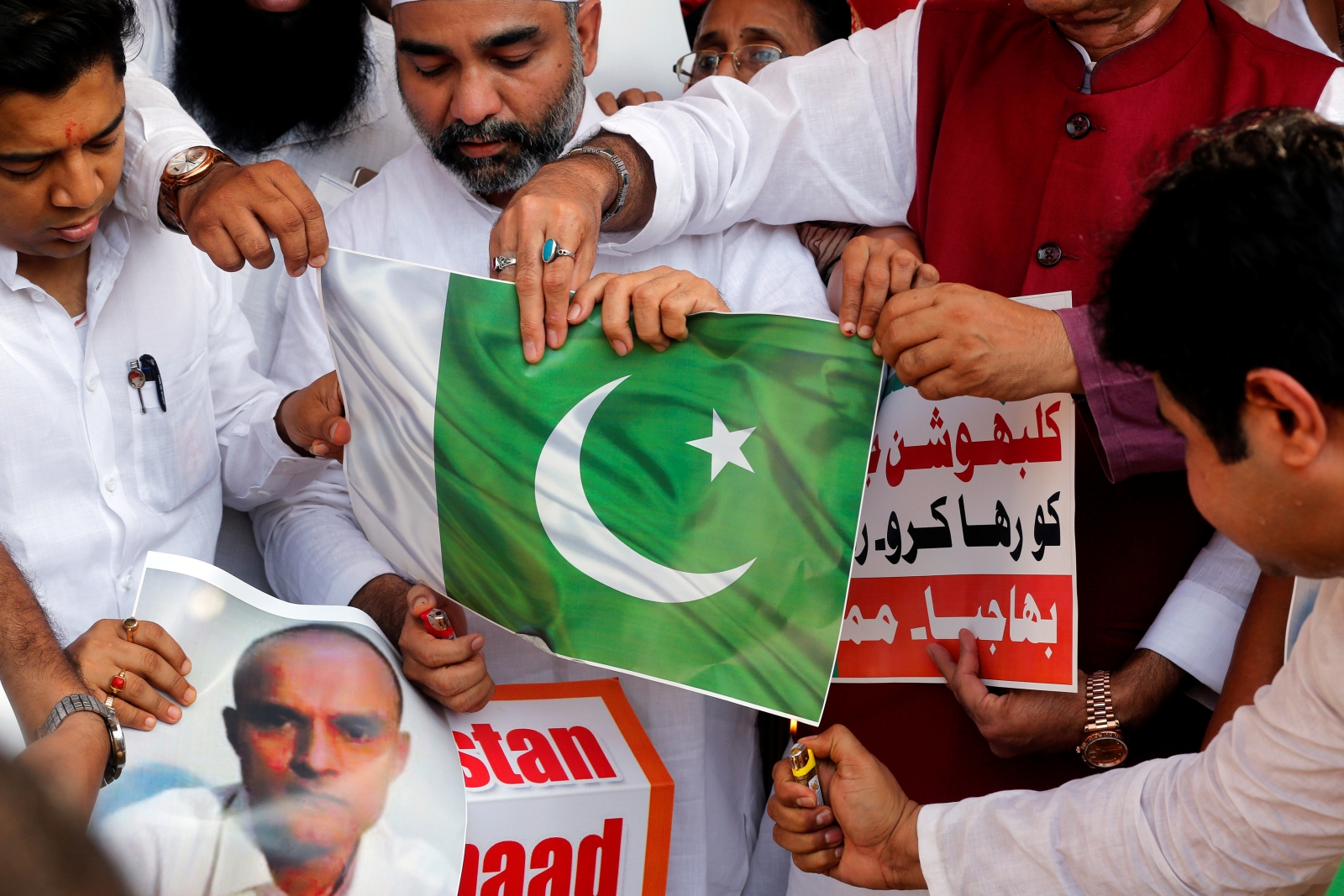 India 'spy' death sentence