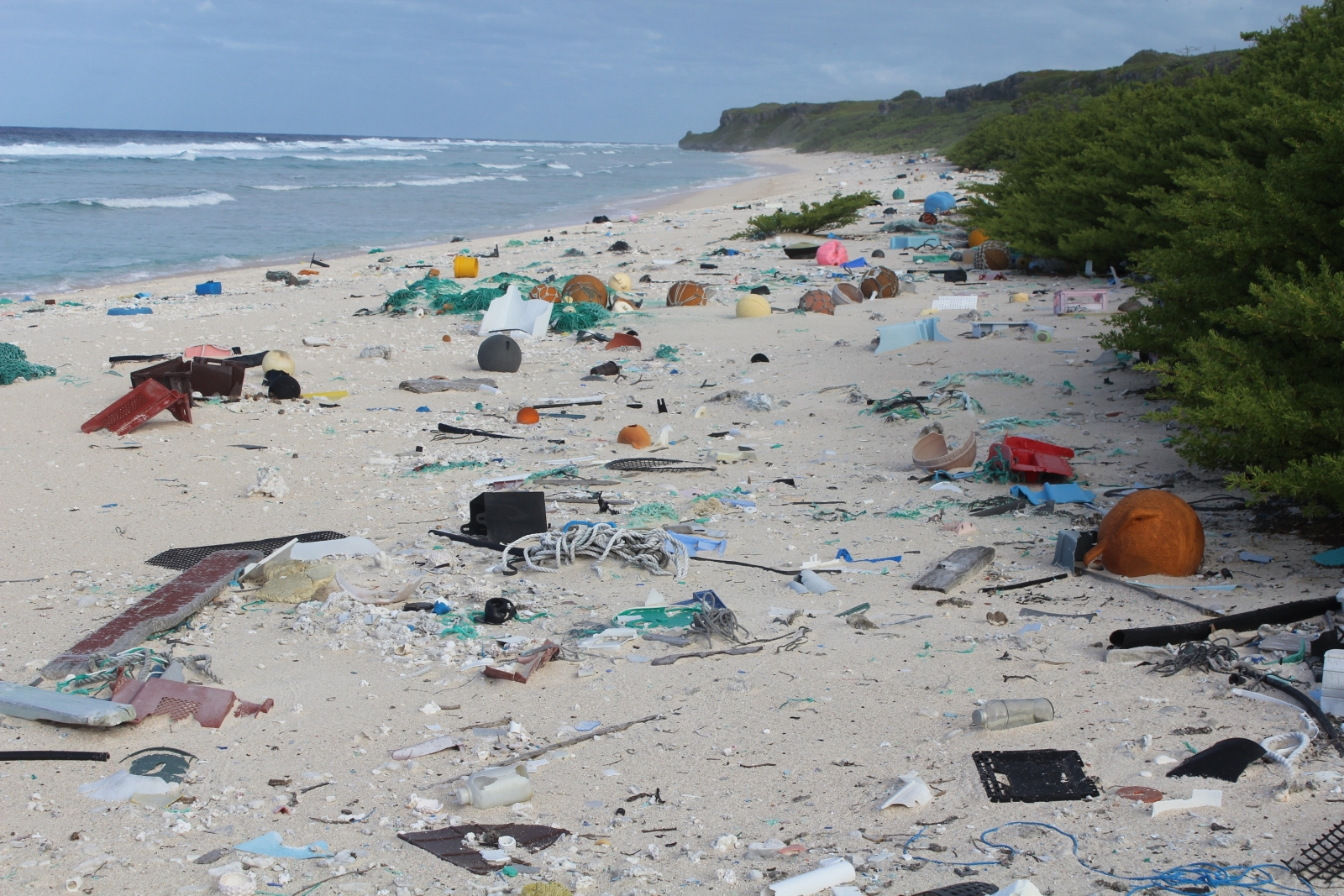 Ocean pollution: Remote South Pacific island of Henderson ...