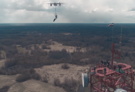 Drone jumping