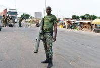 Mutinous soldiers in Ivory Coast