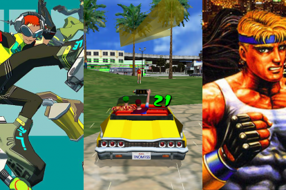 Sega IP Jet Set Radio Crazy Taxi