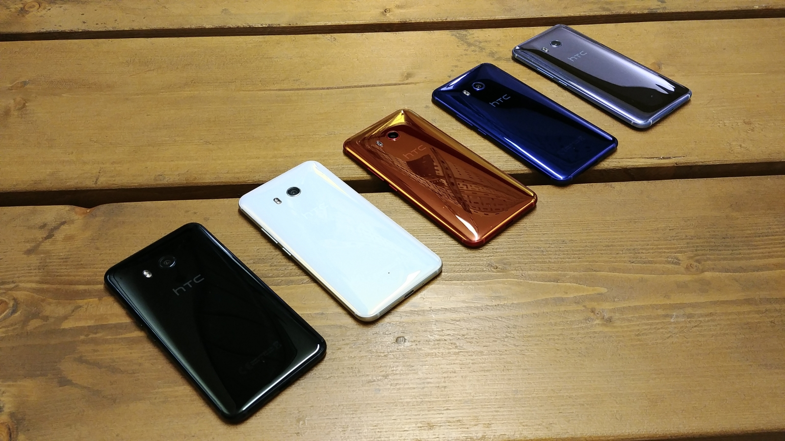 HTC U11 hands on colours