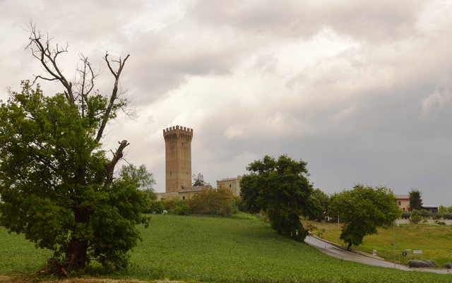 Castello di Montefiore Italian castle