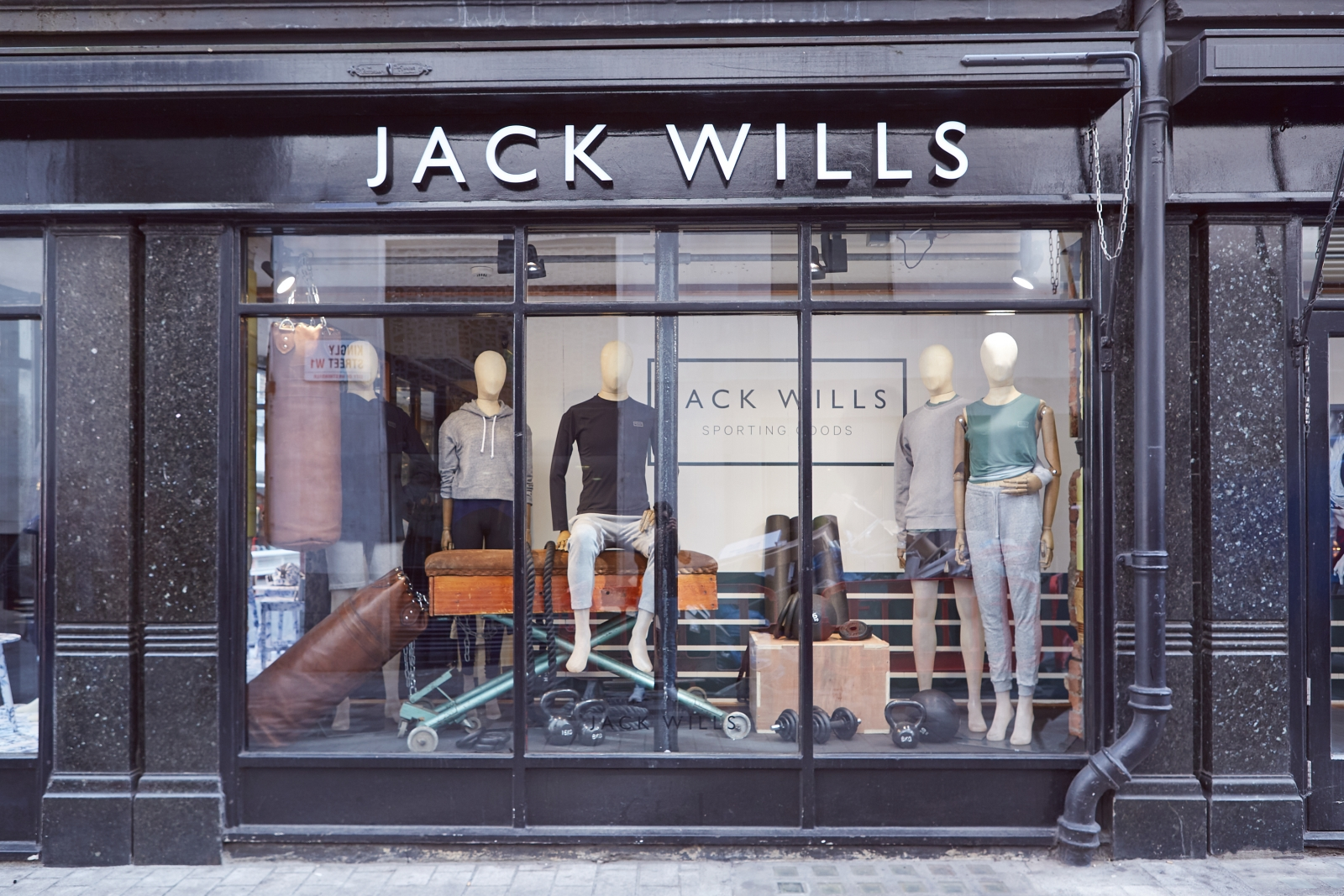 Jack Wills Carnaby Street store in London