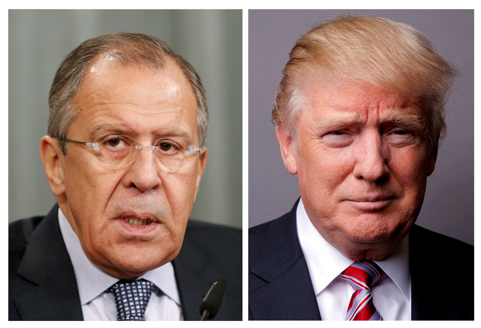 Lavrov and Trump