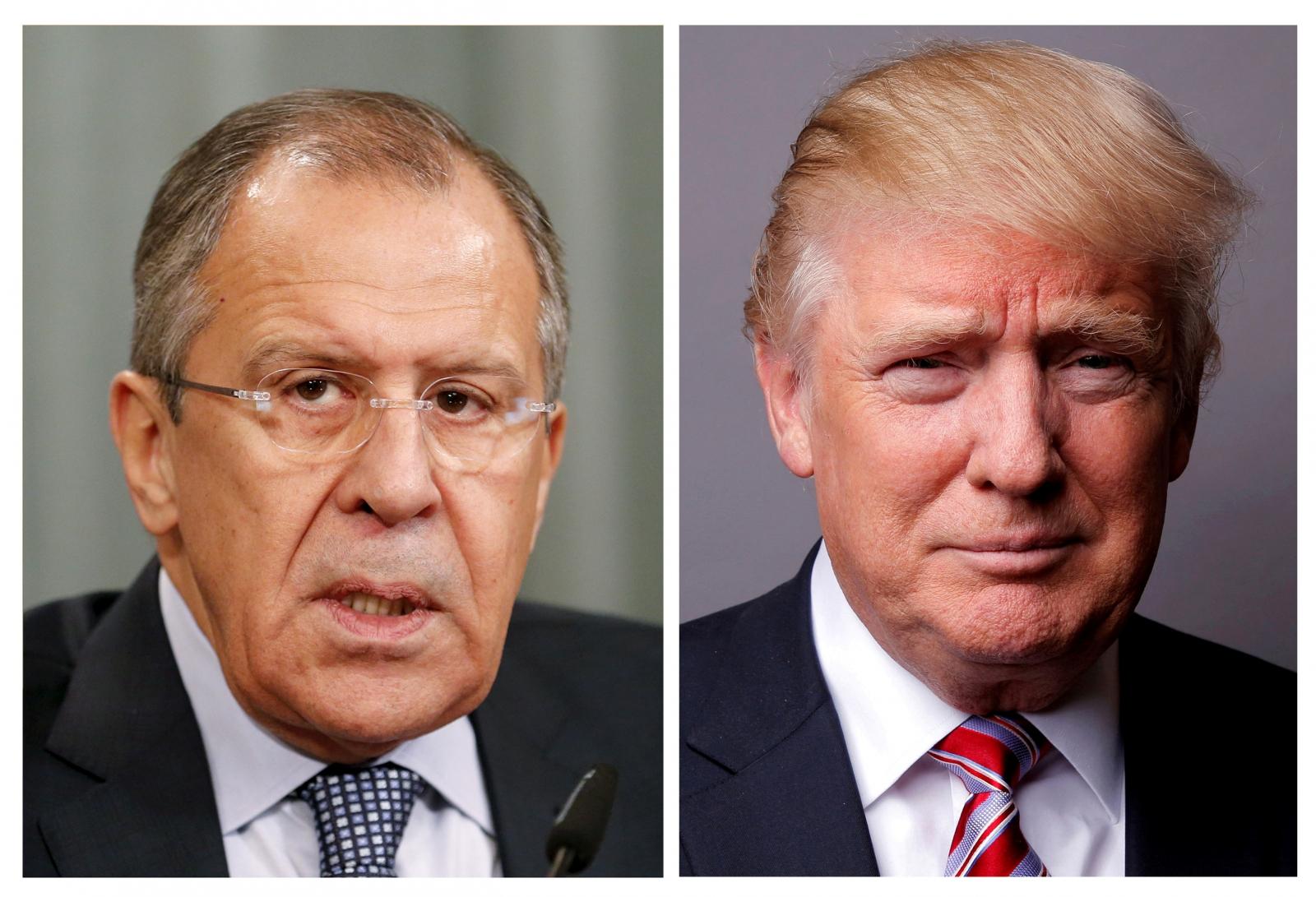 Lavrov and Trump