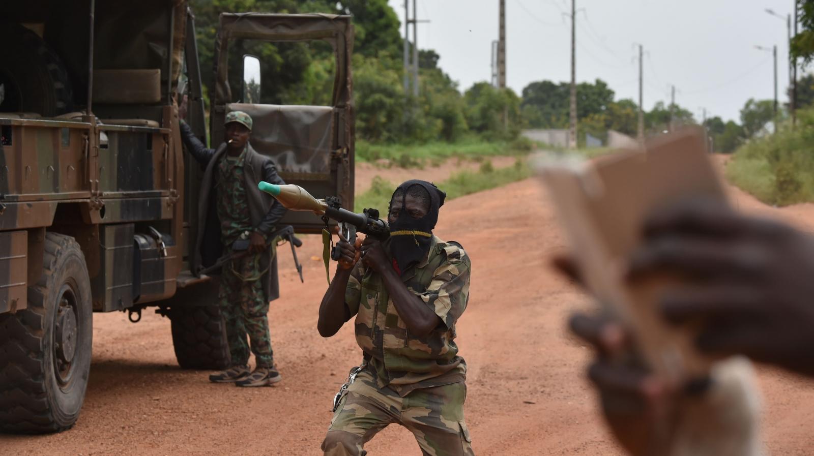 Ivory Coast mutinies