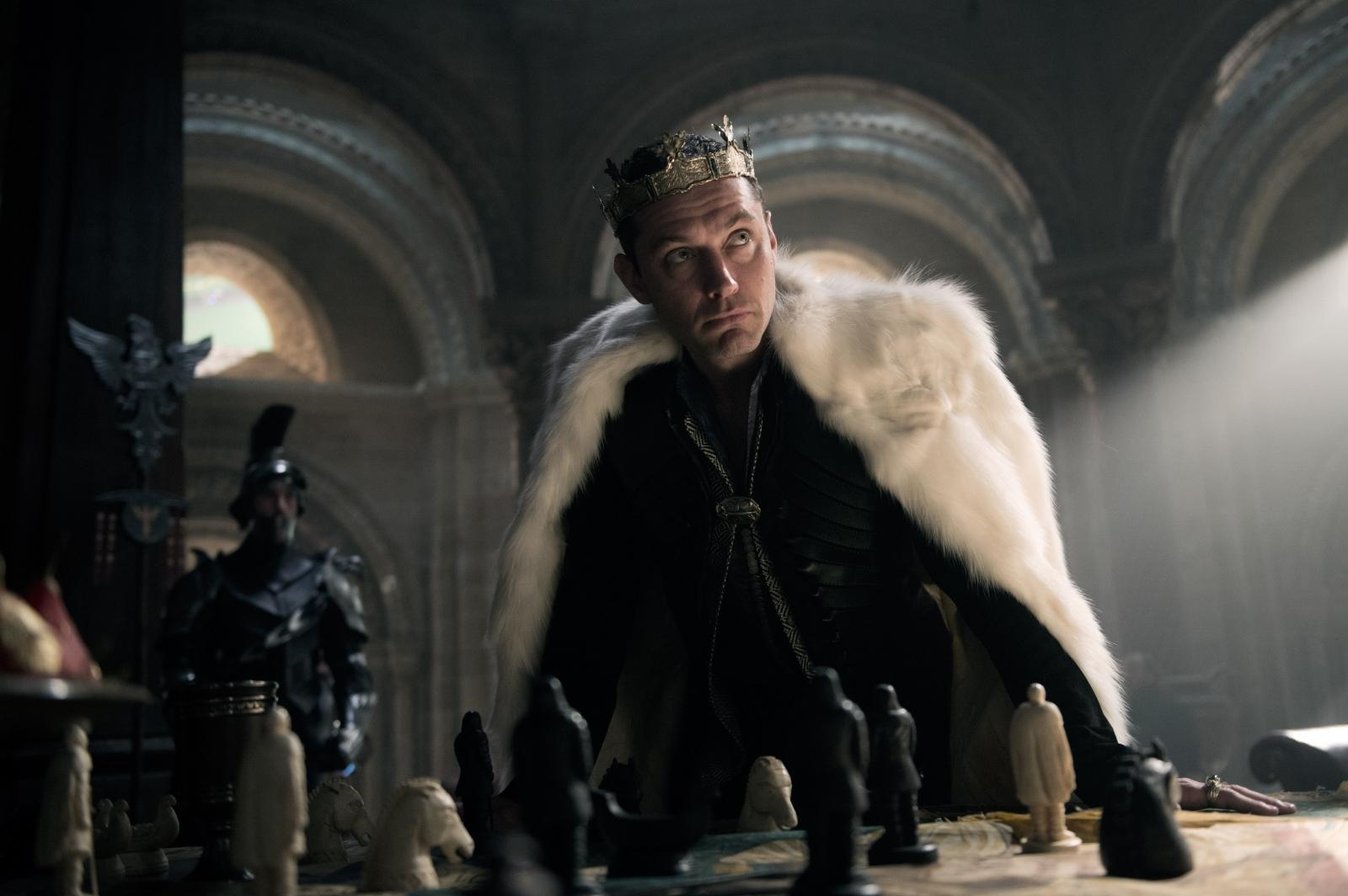 Jude Law in King Arthur