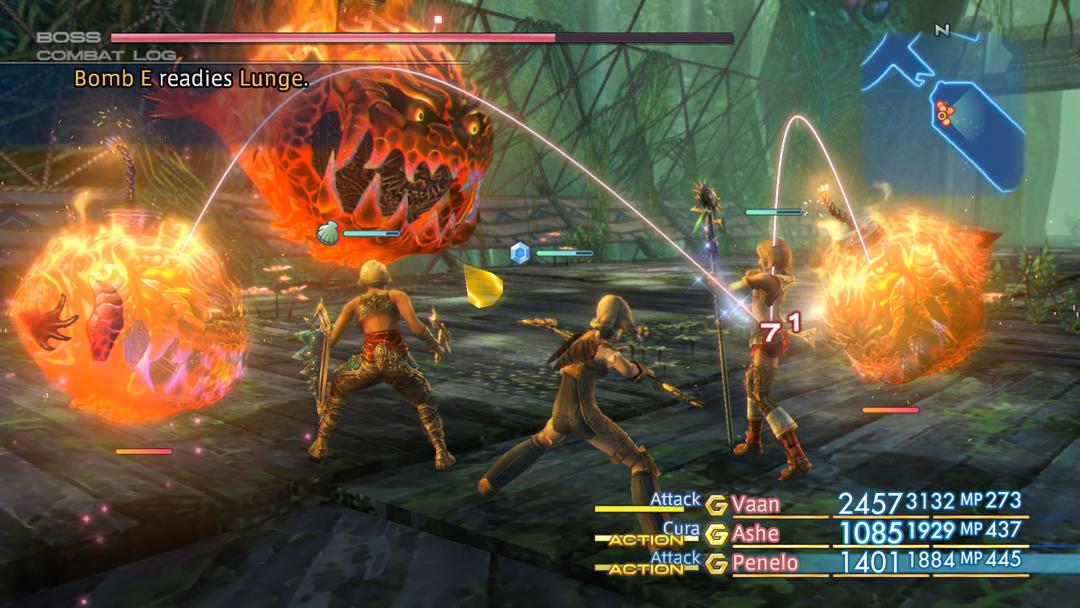 Final Fantasy 12 Zodiac Age ADB system