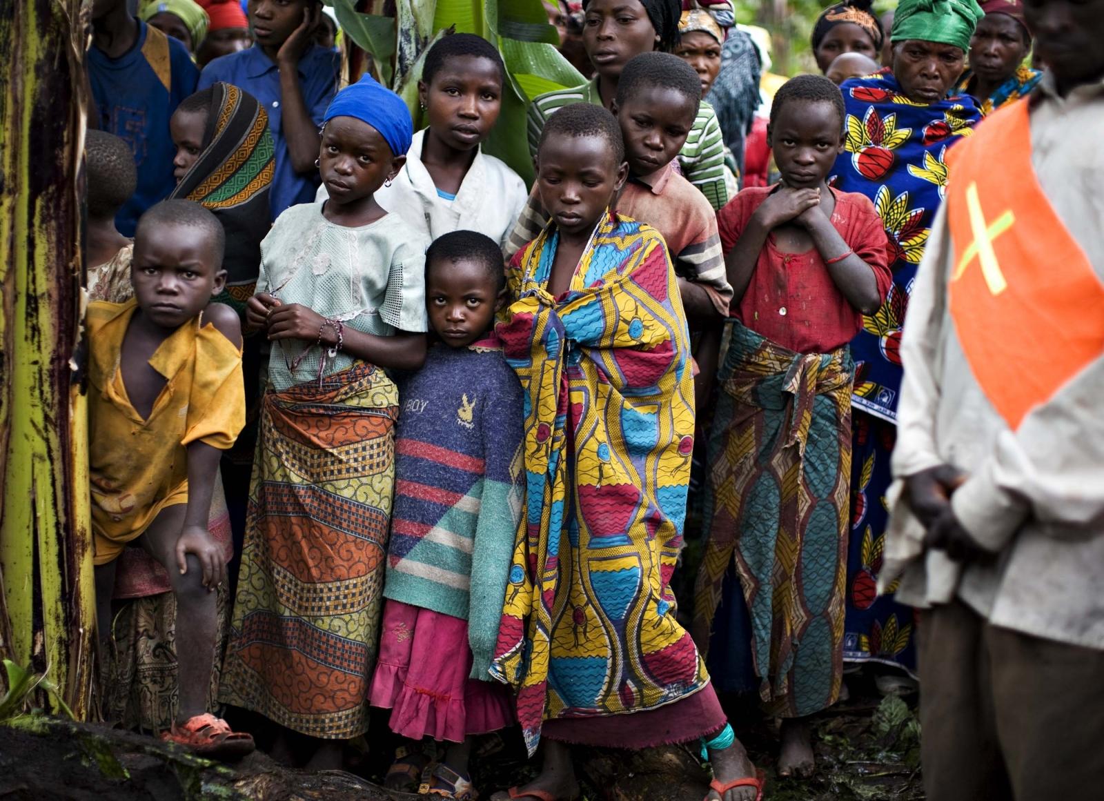 Civilians at risk in DRC