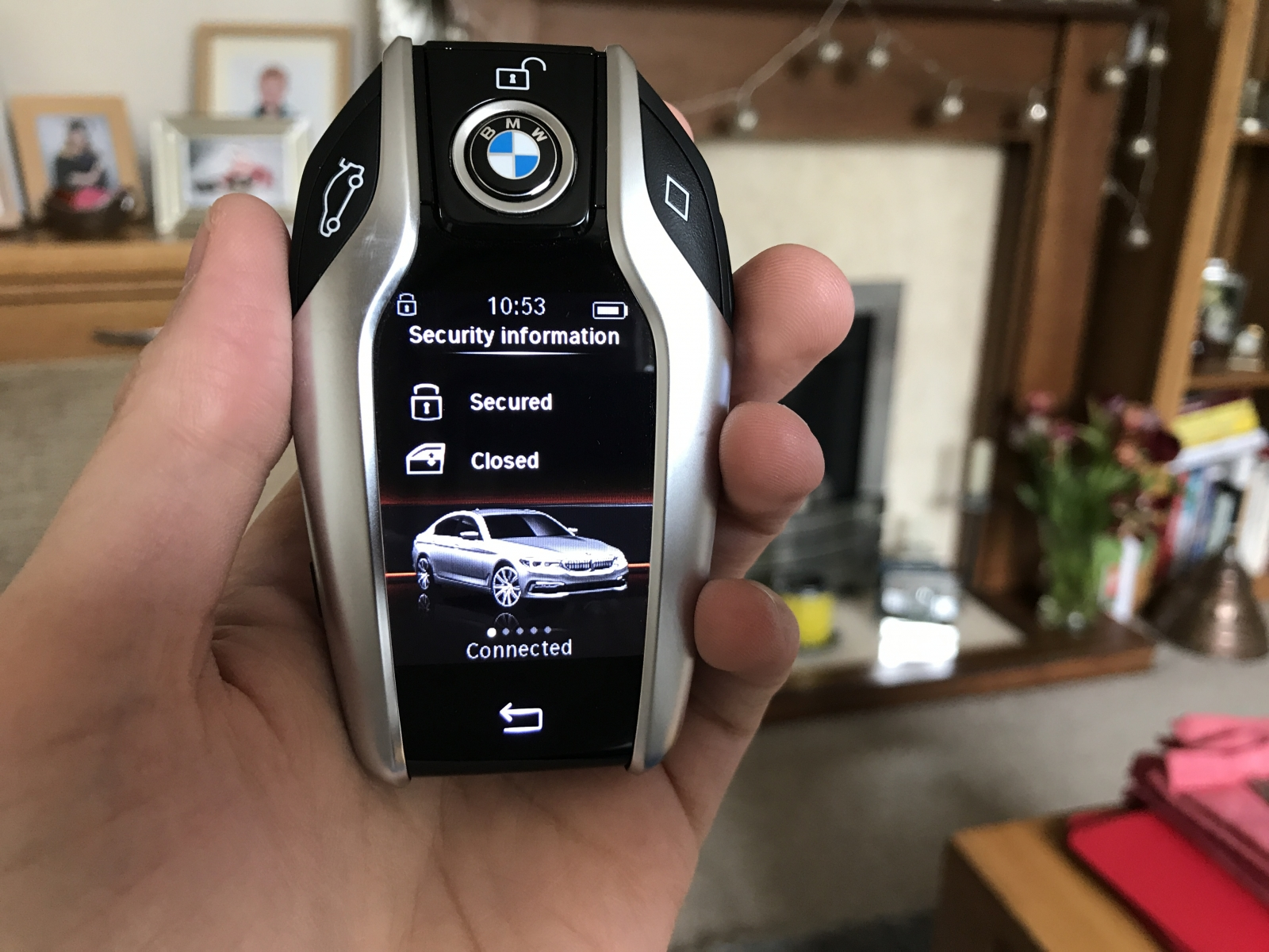 BMW 5-Series key fob