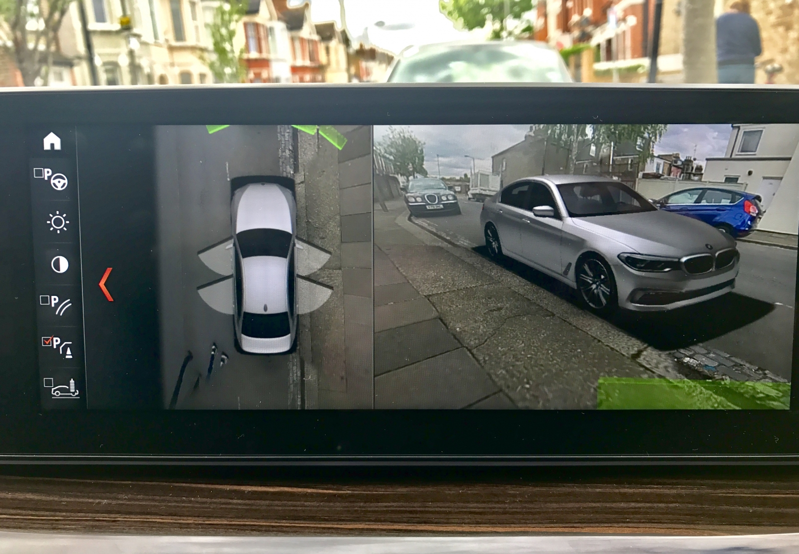 BMW 5-Series augmented display