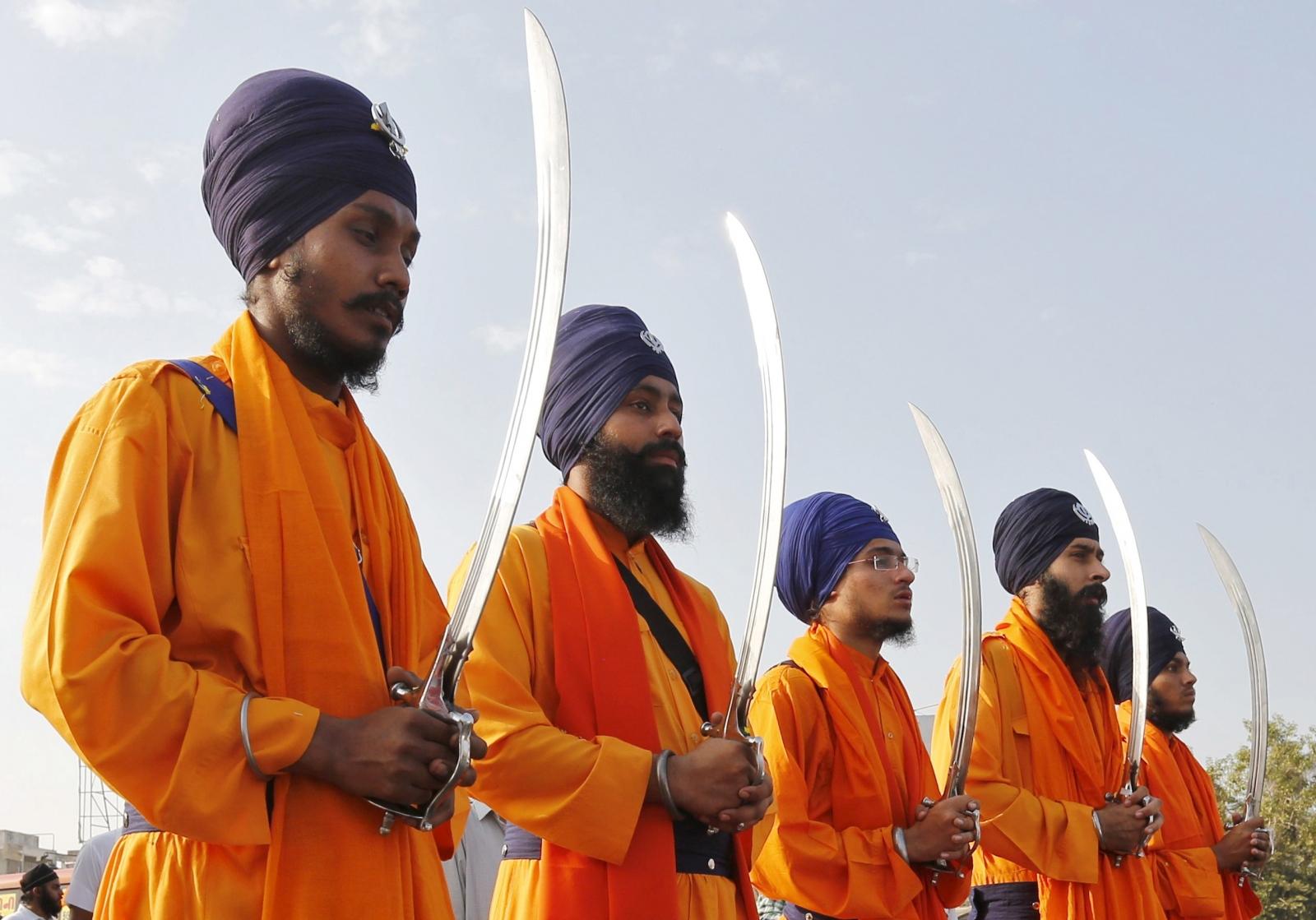 Sikh procession