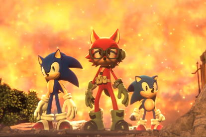 Sonic Forces Custom Character