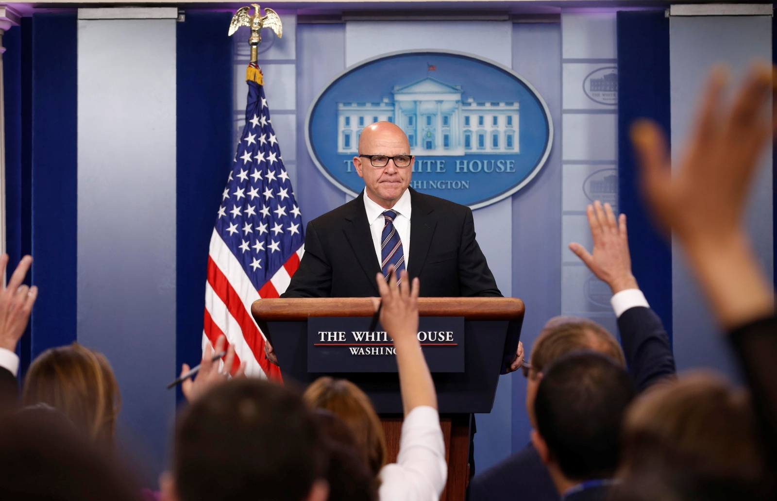 McMaster called Trump an