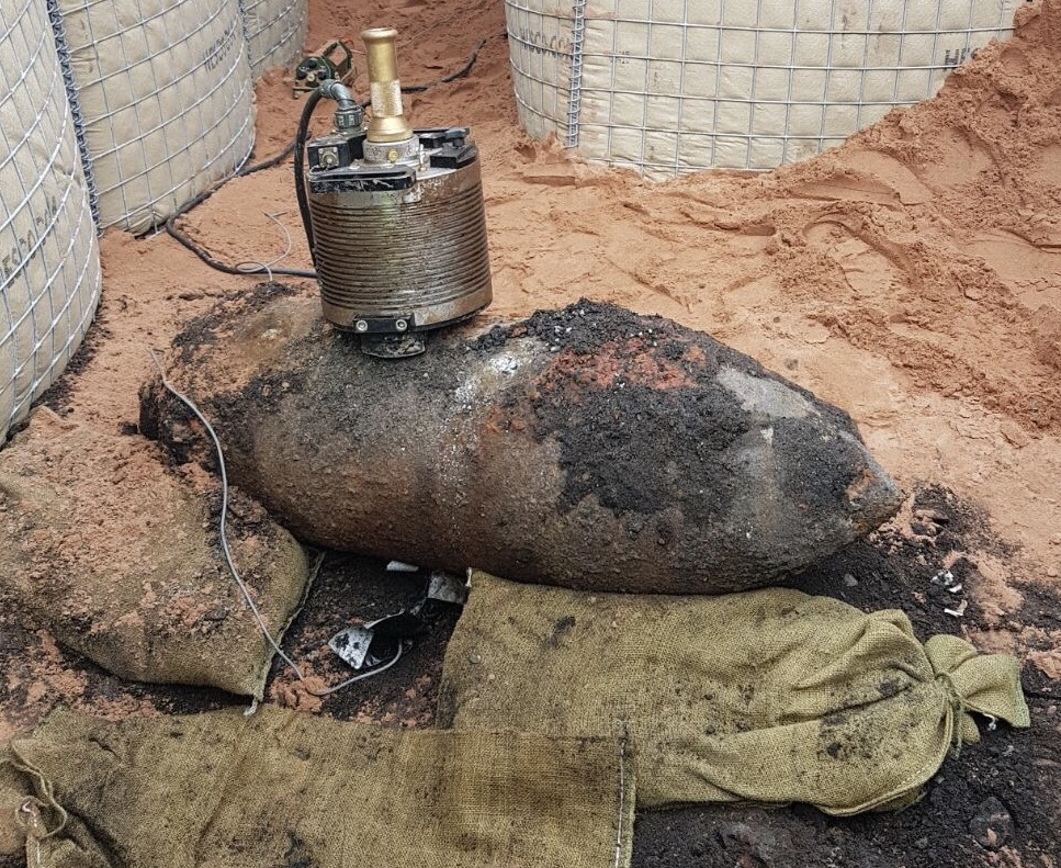 500-pound World War Two bomb detonated after its discovery in Birmingham