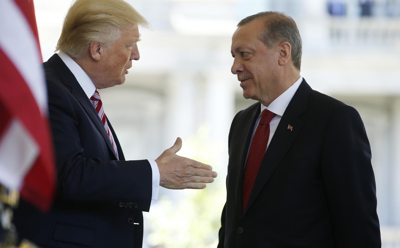 Donald Trump Recep Tayyip Erdogan