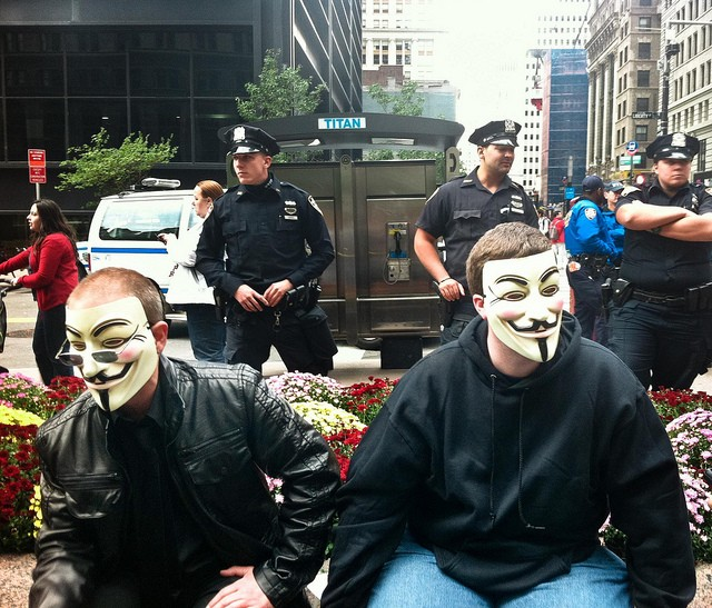 Anonymous Name Police Officer Responsible for Macing Peaceful Occupy Wall Street Protester?