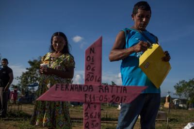 Warao indigenous Venezuela Manaus Brazil