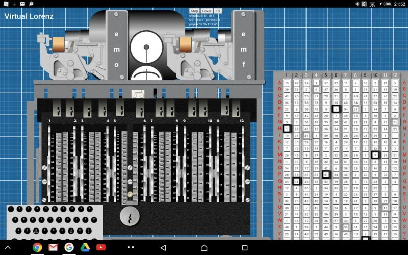 Virtual Lorenz machine