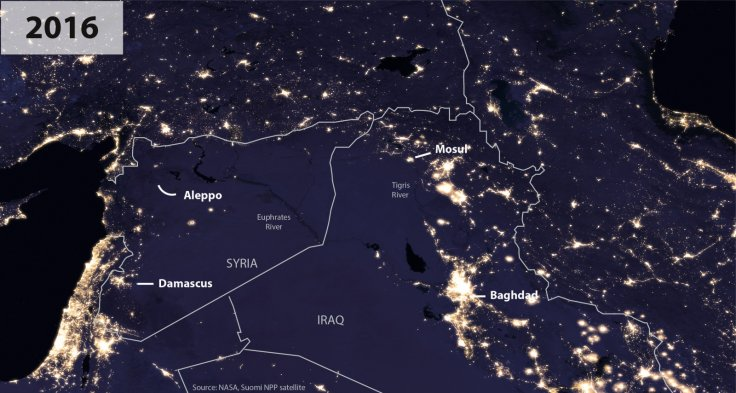 Nasa Syria Iraq