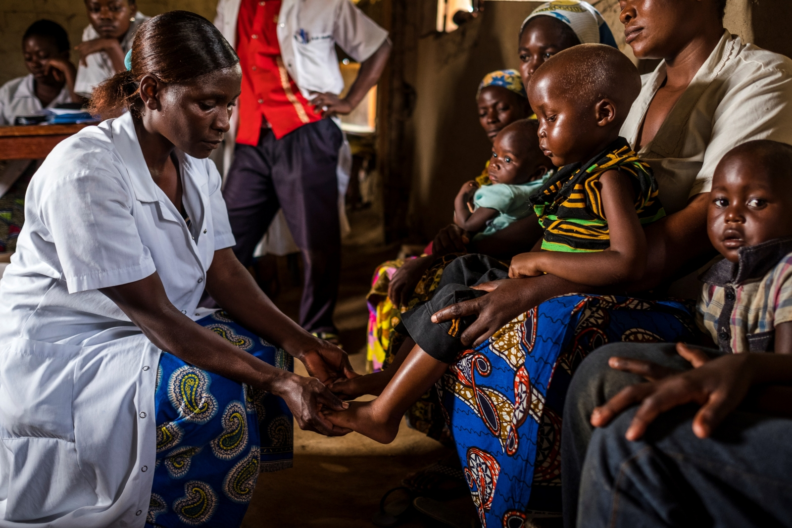 Nurses in DRC