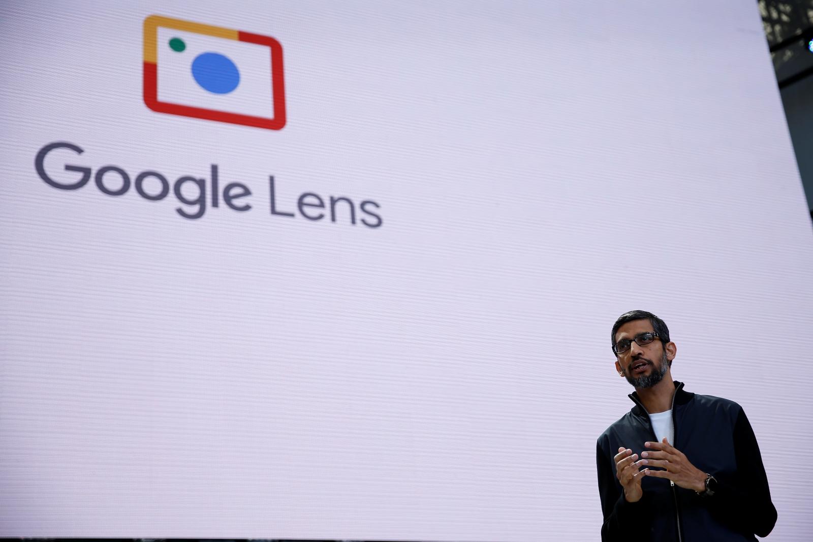 Google Lens at Google I/O