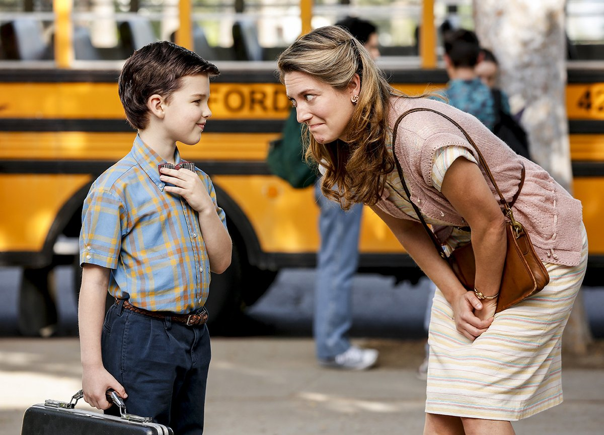 Young Sheldon trailer