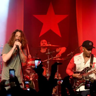 Chris Cornell Tom Morello