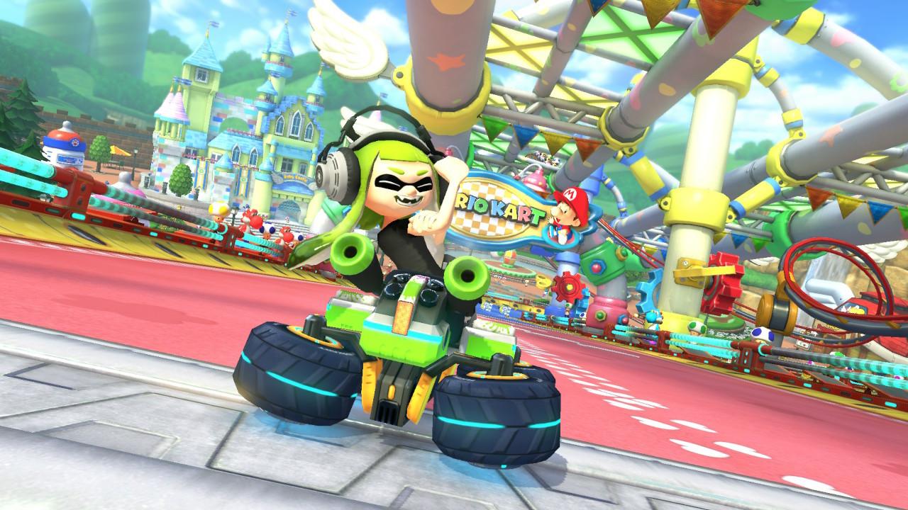 Mario Kart 8 Deluxe Up Yours Inkling