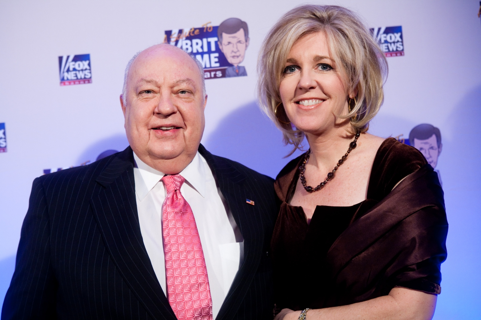 Roger Ailes and Elizabeth Ailes