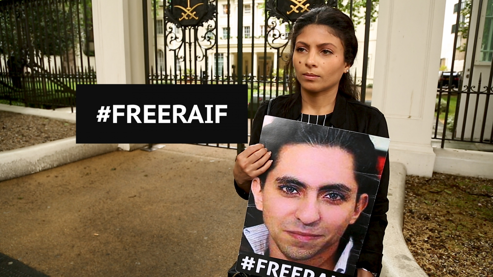 Jailed Saudi blogger Raif Badawi's wife: Free my husband