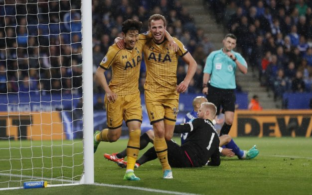 Heung-Min Son and Harry Kane
