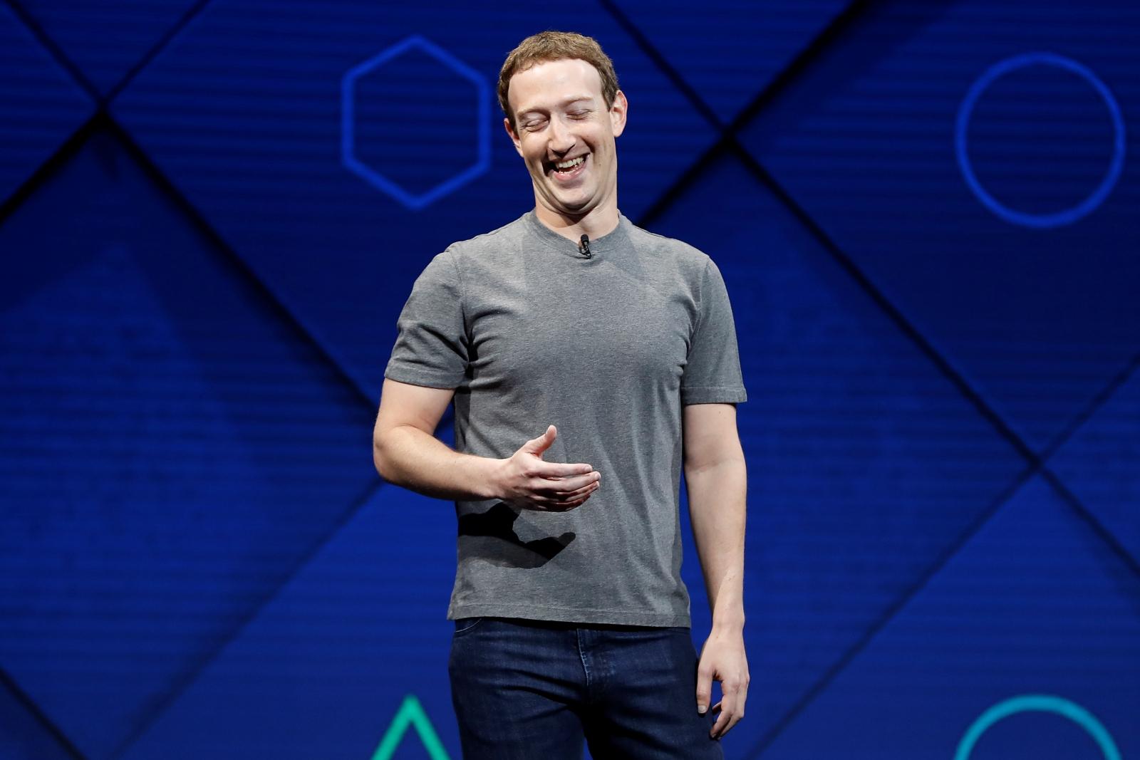 zuckerberg grey t shirt