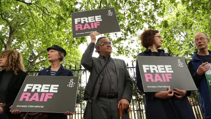 Free Raif vigil