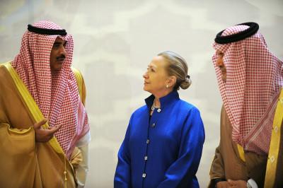 Hillary Clinton in Saudi Arabia