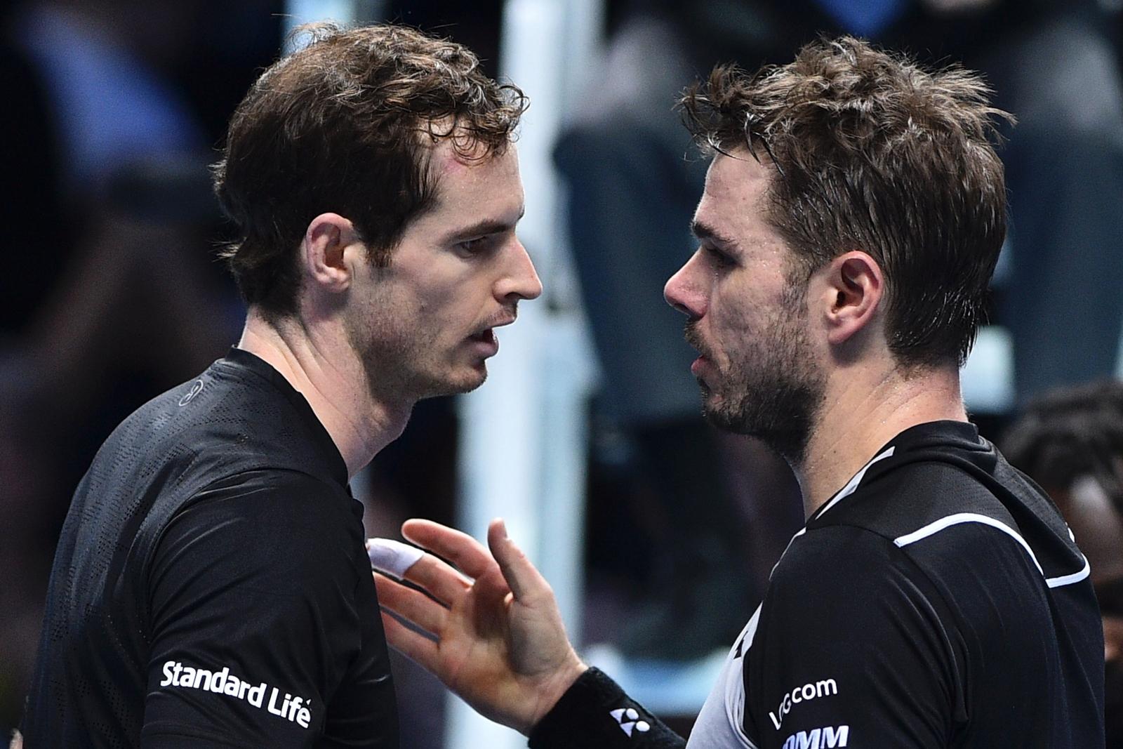 Andy Murray and Stan Wawrinka