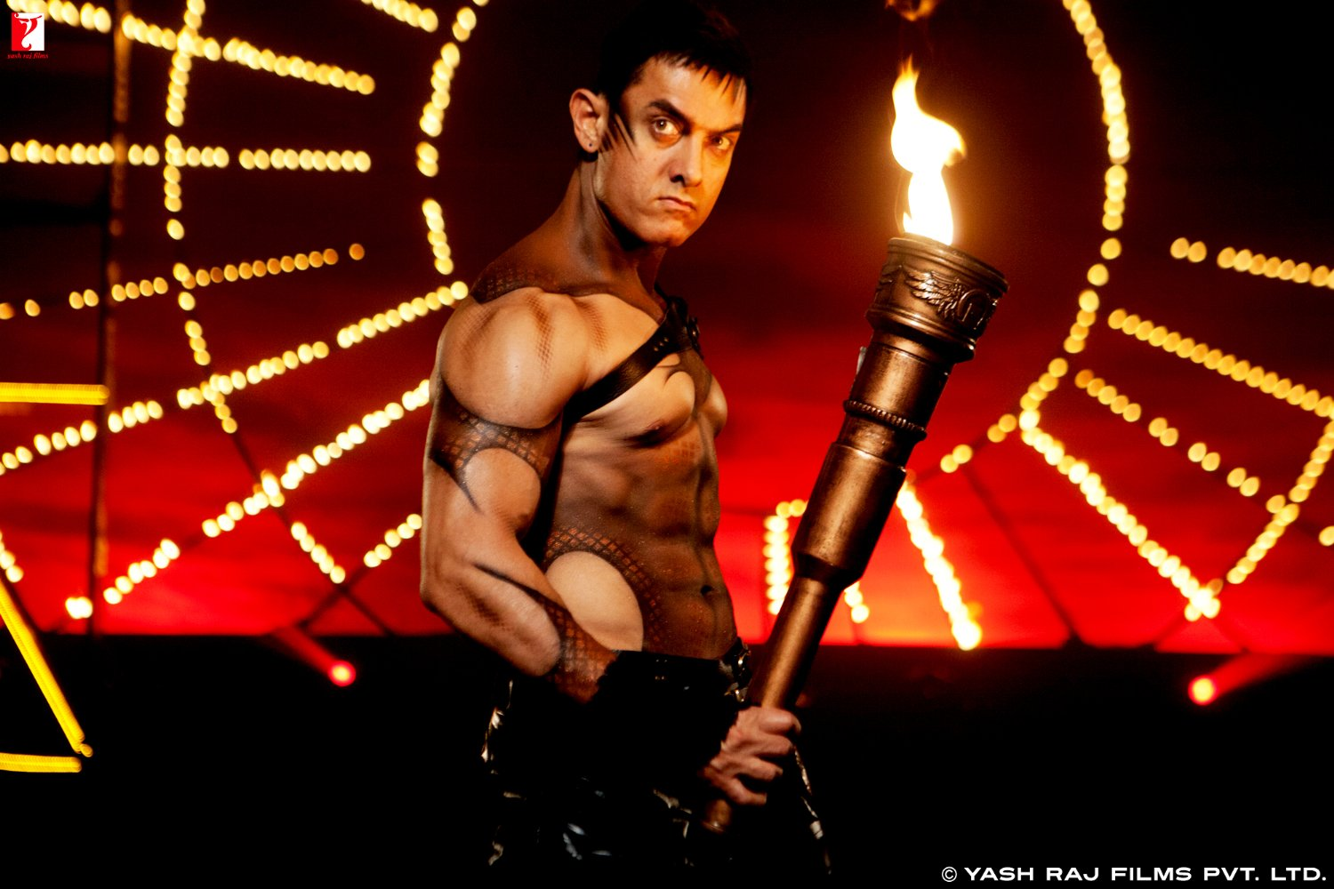 Aamir Khan in Dhoom:3 (2013)