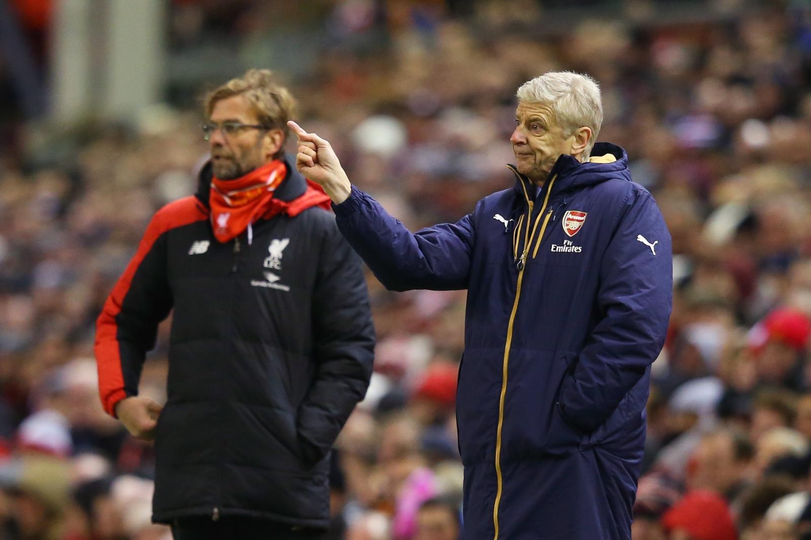Wenger vs Klopp