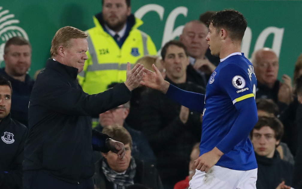 Ronald Koeman and Ross Barkley