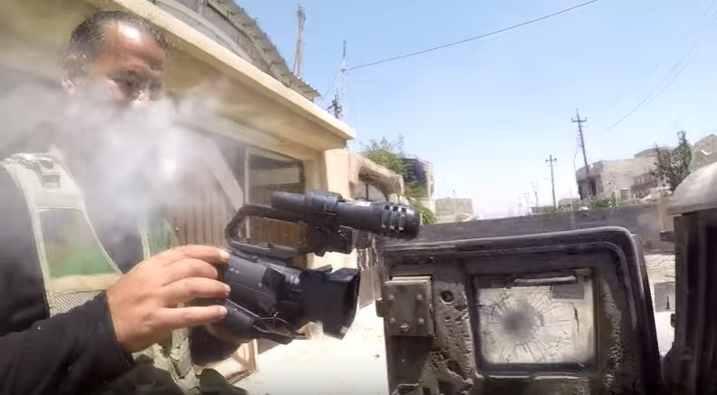 GoPro bullet Isis