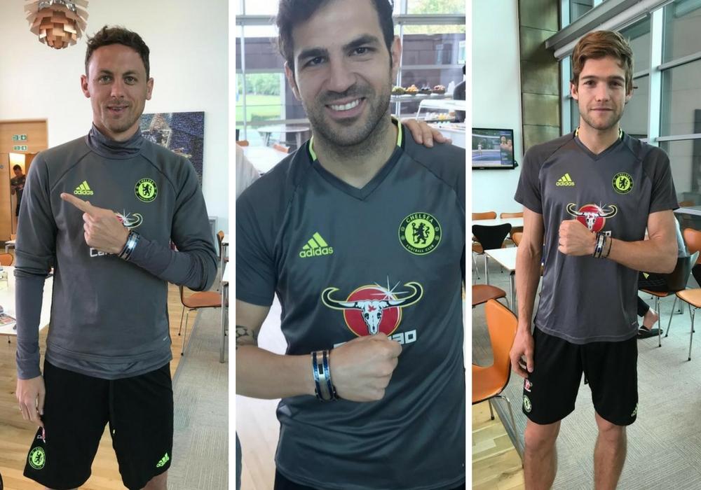 Chelsea teammates