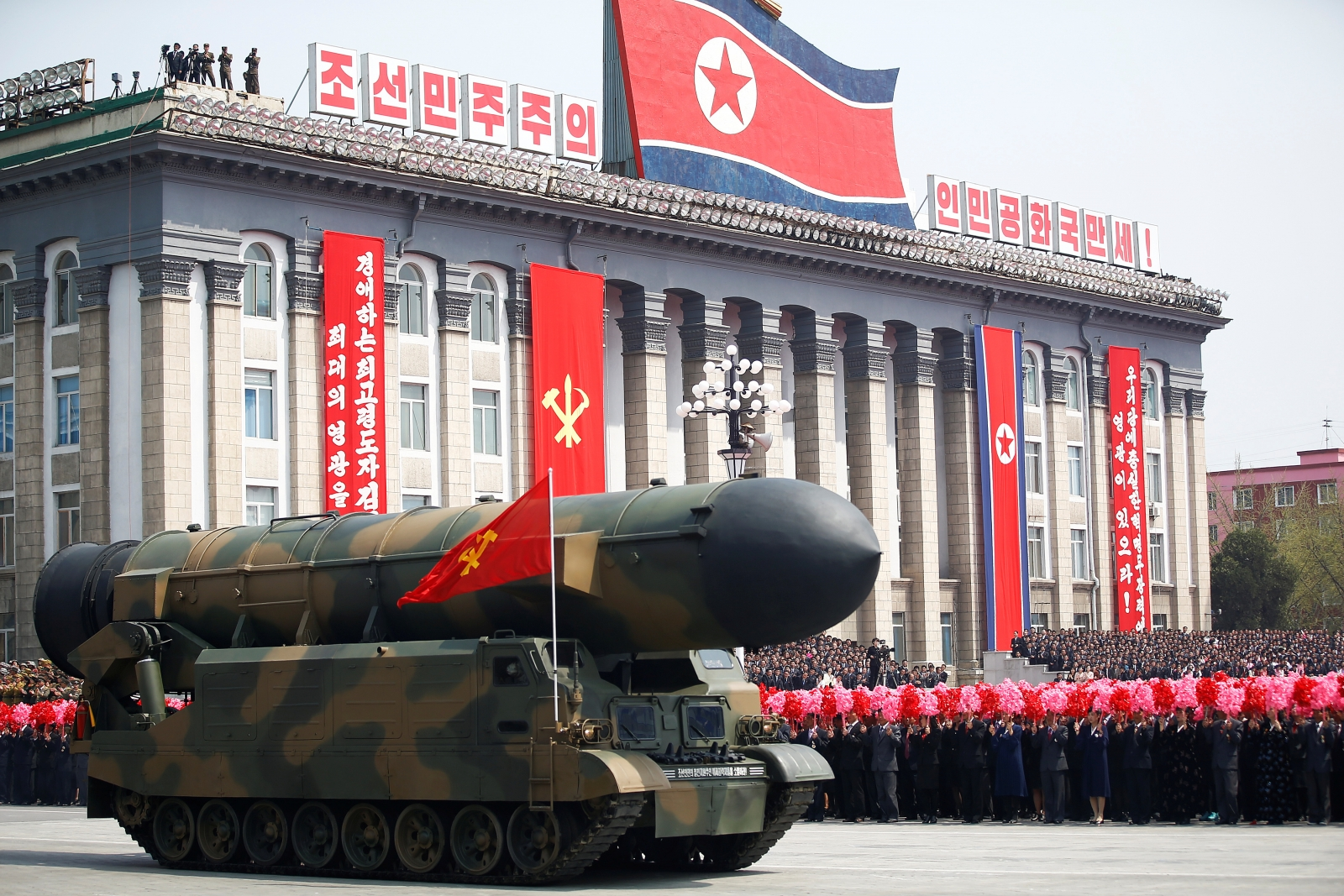 North Korea's latest missile warhead may have been developed long ago