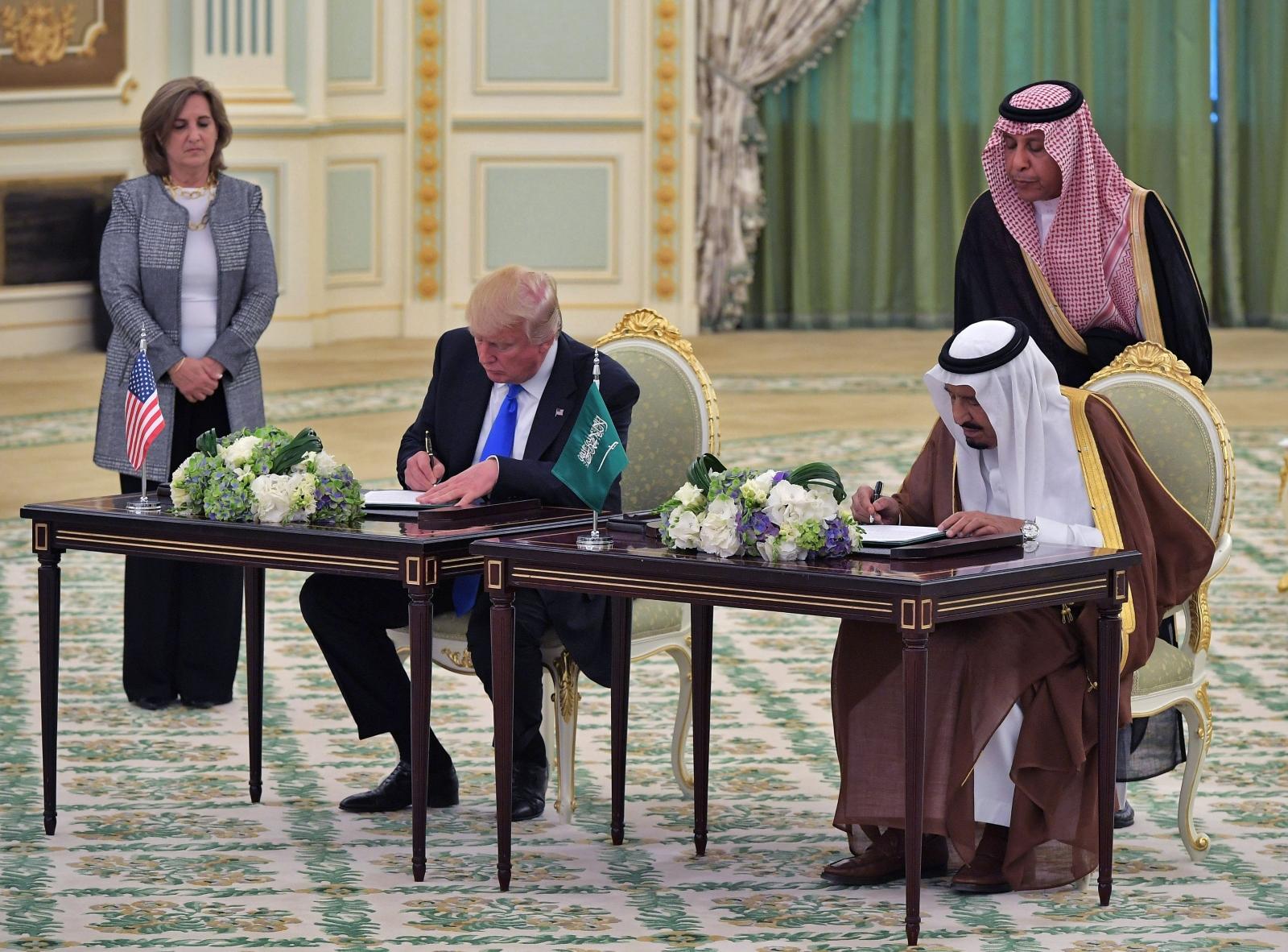 Trump - Salman