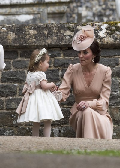 Kate Middleton with Princess Charlotte